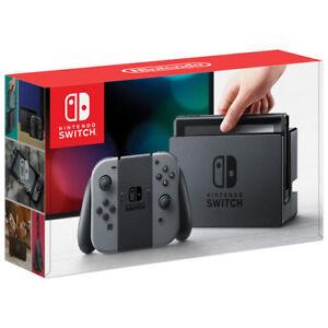 Nintendo Switch Grey - New In Box