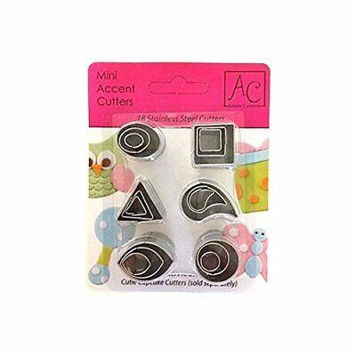 Mini Accent Cupcake Fondant, Gumpaste Cutters - 43-4870