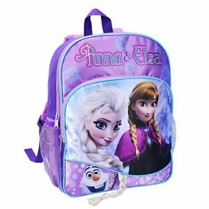 Disney Frozen Elsa and Anna Backpack 16 inch