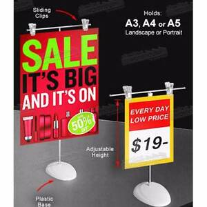 A3/A4/A5 COUNTER (SIGN / BROCHURE / MENU) STAND Camberwell Boroondara Area Preview