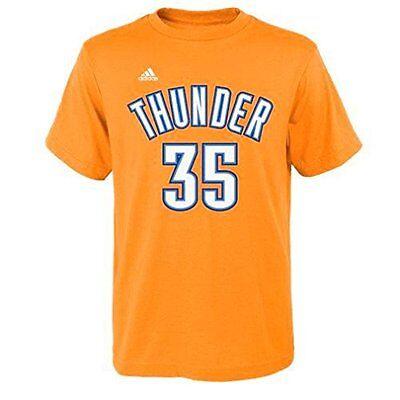 Kevin Durant T-Shirt Oklahoma City Thunder #35 Youth NBA Name Number Climalite