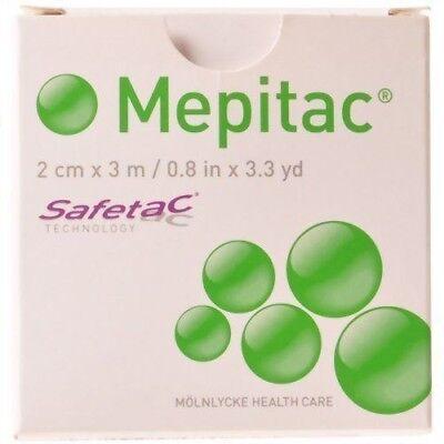 """Mepitac Tape 0.8"""" x 3.3yd (each), Molnlycke 298300"""