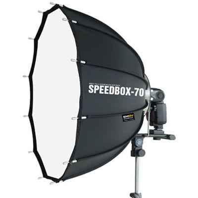 SMDV Speedbox-S70 - 68*70 Hexagon Softbox for Speedlight