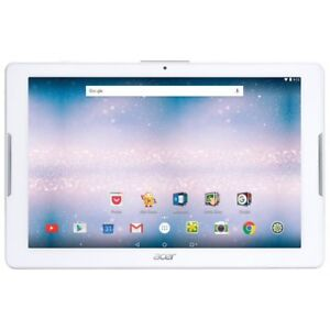 Acer iconia one tablet white. 16gb. Screens broken!
