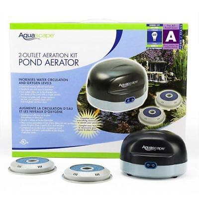Aquascape Pond Air 2 75000 Pond Aeration Pond Aerator Kit