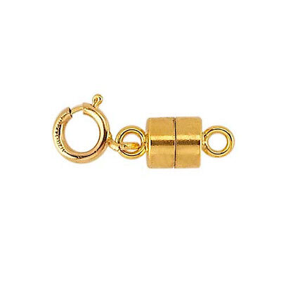 Gold Filled 14K Magnetic Clasp 15.5mm Converter with Spring Ring Made in USA 14k Gold Filled Clasp