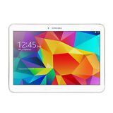 "Samsung Galaxy Tab 4 SM-T530 10.1"" 16GB Wi-Fi Android Tablet - White w/ POUCH"