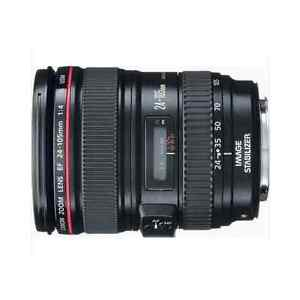 Canon EF 24-105mm f/4L IS USM Autofocus Lens for Canon EOS 24-105 USA