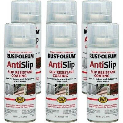 Stops Rust AntiSlip Spray - Ready-To-Use Spray - 12 fl oz - 6 / Carton - -