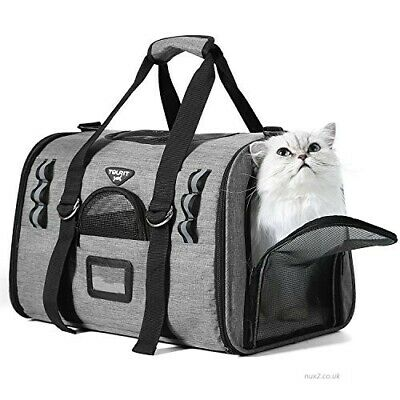 TOURIT Pet Carrier for Cat Dog Lightweight Airline Approved Soft Sided Shoulder