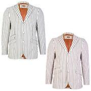 Vintage Striped Blazer