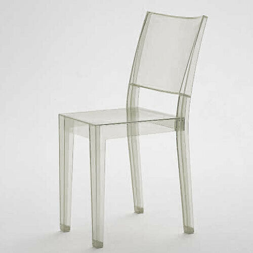 La Marie by Starck for Kartell Lucite Acrylic Ghost Chairs Space Italy FOUR