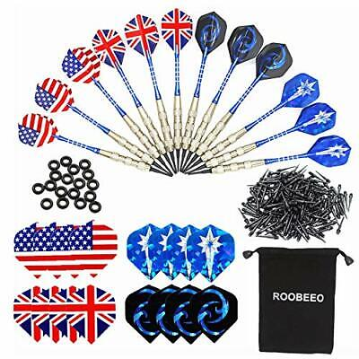 ROOBEEO Soft Tip Darts for Electronic Dart Board 12 pcs 18g Plastic Tip Darts...