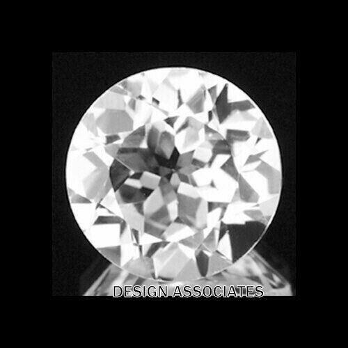 DIAMOND QUARTZ 23 MM ROUND CUT ALL NATURAL F-2975