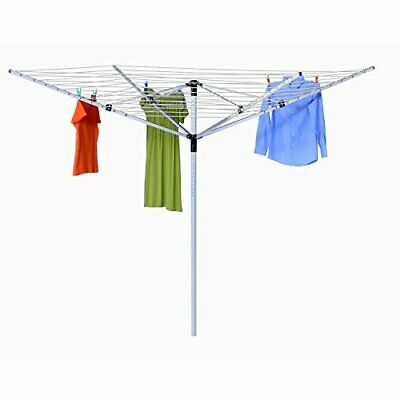 Honey-Can-Do Dry-05262 Umbrella Outdoor Dryer, 7 x 72, White