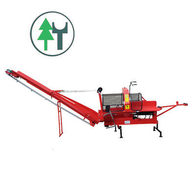 Firewood Processor Brennholzmaschine Woodking 400Z mit Zapfwelle