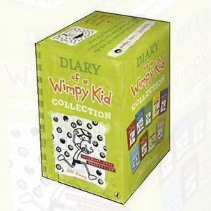 Jeff-Kinneys-Diary-of-a-Wimpy-kid-collection-Hard-Luck-9-Books-Set-The-Third