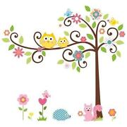 Nursery Wall Stickers Tree