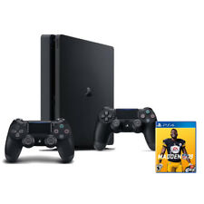 PlayStation 4 Slim 1TB + Extra DualShock 4 Wireless Controller + Madden NFL 19