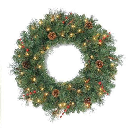 outdoor christmas wreath ebay