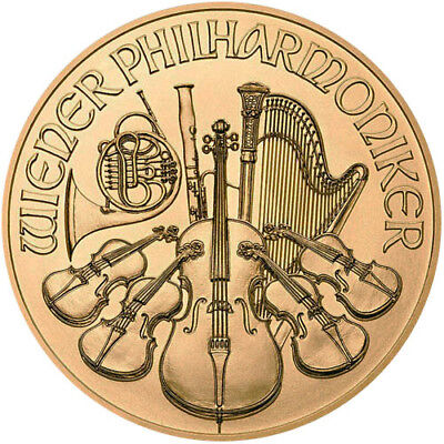 2018 1 oz Austrian Gold Philharmonic Coin (BU)