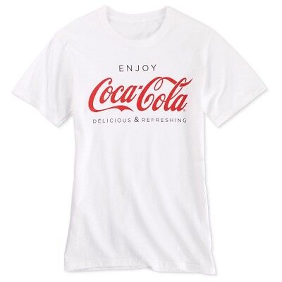 COCA COLA COKE ENJOY WHITE T SHIRT M  NEW!!
