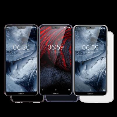 Nokia 6.1 Plus 4GB/64GB Dual Sim - [Negro/Azul/Blanco]