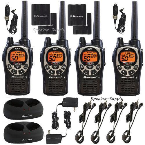 Midland Gxt1000vp4 36-mile 50-channel Frsgmrs Two-way Walkie-talkie Radio-pair
