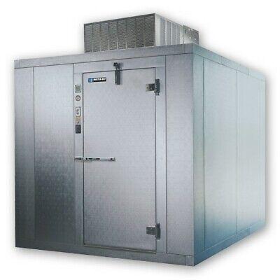 Master-bilt Walk In Freezer 6x6 Indoor 76ft H W Floor Refrigeration