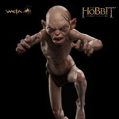 Weta Collectibles The Hobbit An Unexpected Journey Gollum Enraged Statue New