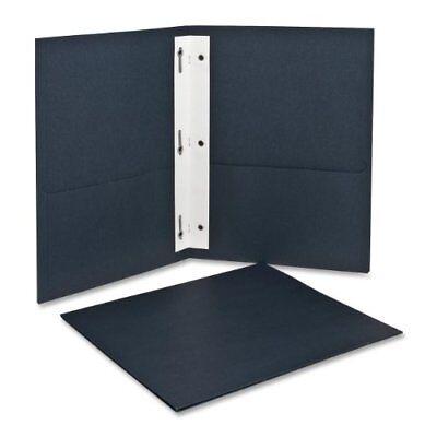 Oxford Twin Pocket Folders With Fasteners Letter Size Dark Blue 25 Per Box 5