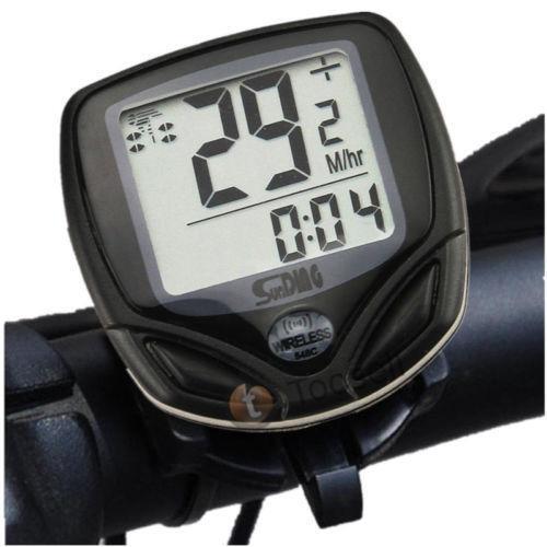 digital bike speedometer cycle computers gps ebay. Black Bedroom Furniture Sets. Home Design Ideas