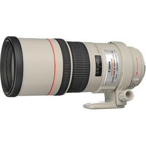 Pristine 300 mm Canon lens IS model