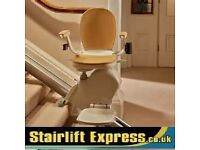 STAIRLIFTS - NEW & RECONDITIONED *STANNAH*ACORN*BROOKS*FITTED WITH WARRANTY & FREE SERVICE FROM £499
