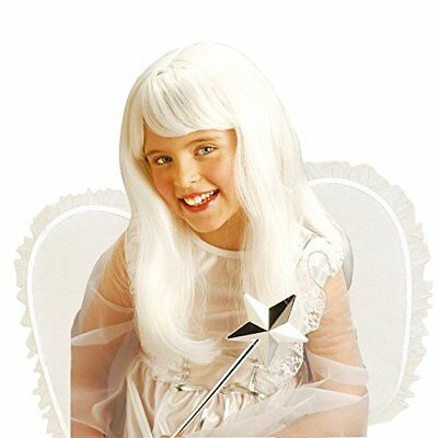 Angel White For Kids Wig for Hair Accessory Fancy Dress - White Wig For Kids