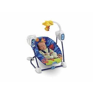 fisher price aquarium cradle swing manual