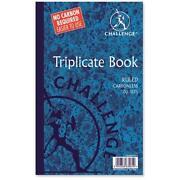 Triplicate Book Carbonless
