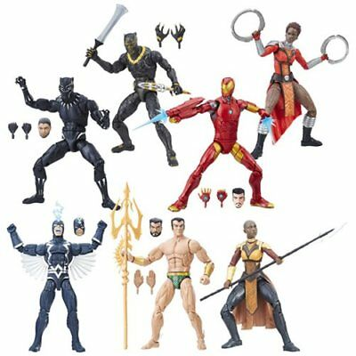Marvel Legends Black Panther 6-Inch Action Figures Wave 1 BAF Okoye IN STOCK