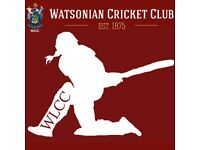 Volunteers Needed: Bolster the recruitment drive of Watsonian Ladies Cricket Club