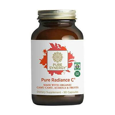 Pure Synergy Pure Radiance C Natural Wholefood Vitamin C 90 Vegetable Capsules