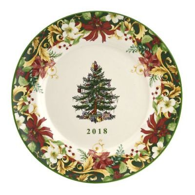 Spode Christmas Tree Annual Collector Plate 2018