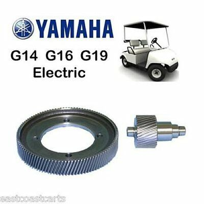 Yamaha G14, G16, G19 Electric Golf Cart HIGH SPEED Gears 6:1 Ratio for sale  Shipping to India