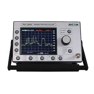 Avcom Psa-2500c 5 Mhz - 2500 Mhz Spectrum Analyzer
