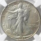 AU 58 Graded Liberty Walking Half Dollars (1916-1947)