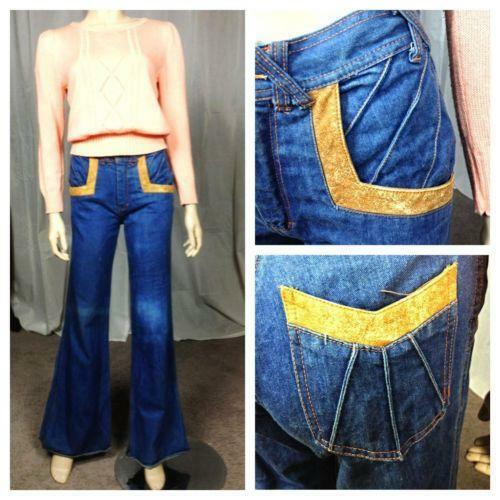 Mens Bell Bottoms Jeans