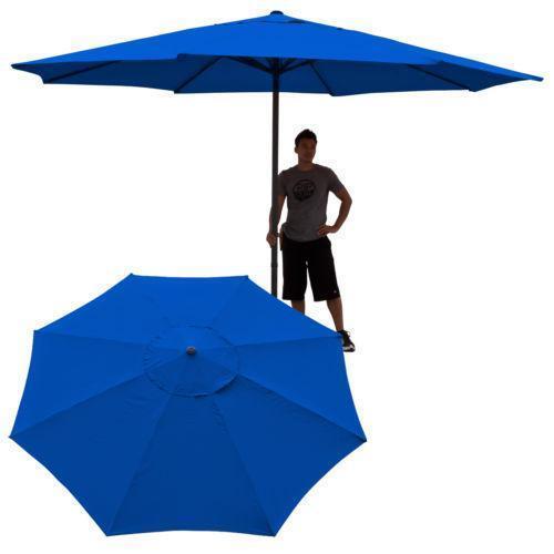 Canvas Patio Umbrella Ebay