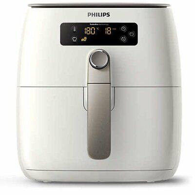 Philips Avance TurboStar Airfryer Digital Interface 1.8lb/2.75qt HD9641/66 WHITE