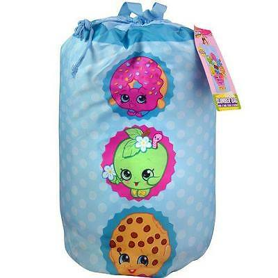 New Shopkins Indoor Slumber Sleeping Bag w/Carry Drawstring for Kids
