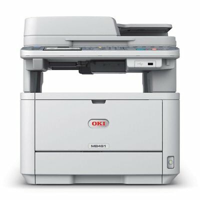 OKI MB491 Multifunktionsgerät Drucker, Scan, Kopie, Fax, AUSTAUSCHGERÄT, DAK-021 (Drucker Fax Kopie Scan)