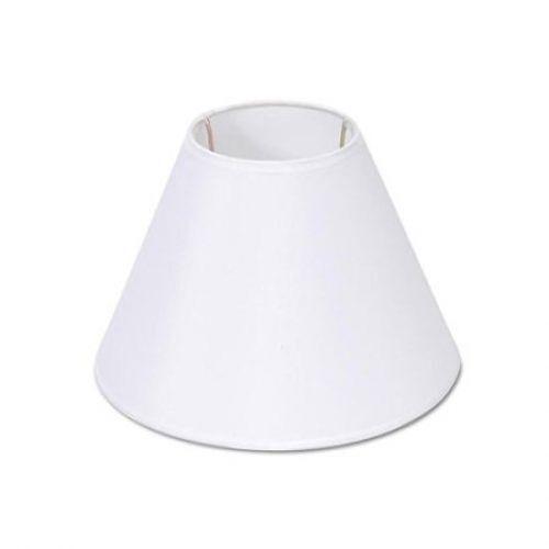 Lamp Shade, Darice 5200-29, White Fabric-covered, Fits Stand
